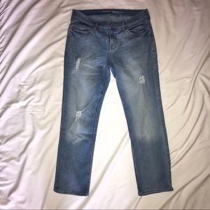 Old Navy Straight Ankle Jeans